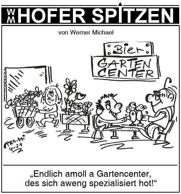 Hofer Spitzen im April